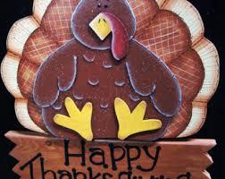 turkey yard sign etsy