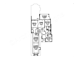 100 narrow house plans low cost narrow lot house plans with