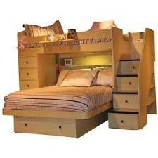 Furniture Twin Over Queen Bunk Bed Twin Over Queen Bunk Bed - Twin over queen bunk bed