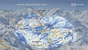 Alps On A Map Pistenplan Bad Gastein Salzburger Land österreich
