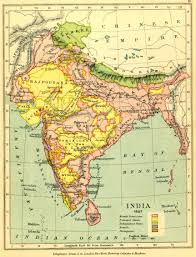 India States Map Gazetteer And Maps