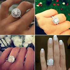 big diamond engagement rings big engagement ring inspiration popsugar