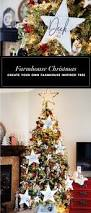 farmhouse inspired christmas tree dream tree challenge