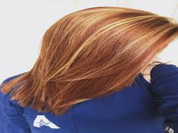 natural red hair with highlights and lowlights blonde and red highlights highlights lowlights copper lowlight