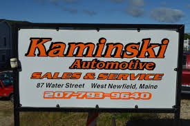 kaminski auto sales west newfield me read consumer reviews