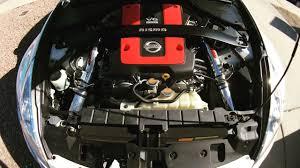 nissan 370z nismo engine part 1 370z nismo stillen gen 3 cold air intake install youtube