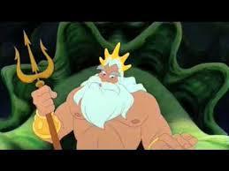 mermaid sebastian king triton