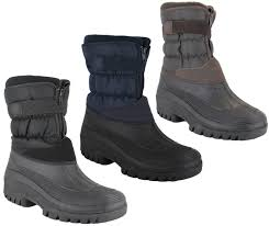 groundwork ls87 mens muckers mukker stable winter snow boots