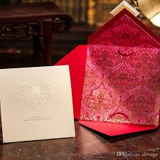 Marriage Wedding Cards Marriage Wedding Card Customized Red Wedding Invitations Chinese