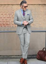 light gray suit brown shoes good light gray suit or light gray double pinstripe suit 1 57 light