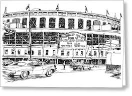 chicago cubs drawings fine art america