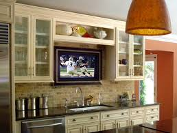 tv in kitchen ideas tv solutions decorating ideas house to home