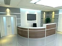 Affordable Reception Desk Reception Desk Ideas Image Of Funky And Light Hotel Counter Design