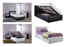 ottoman bed single single ottoman beds ebay