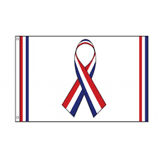 White Flag Meaning Red White And Blue Ribbon Clipart Clipartxtras
