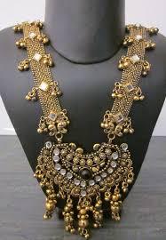 antique necklace pendant images Long necklace pendant antique gold bollywood boho gypy festival jpg