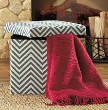 Chevron Storage Ottoman Cheap Storage Ottoman Grey Find Storage Ottoman Grey Deals On