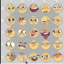 Expressions Meme - expression meme by getbendy on deviantart