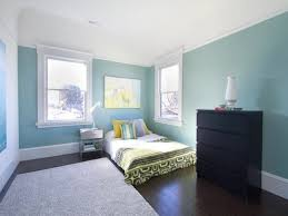 Blue Accent Wall Bedroom by Room Green Accent Wall Decorating Idea Inexpensive Interior