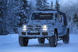 is this the mercedes amg g63 4x4 pickup truck playing in the snow