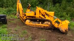 john deere 450 crawler loader backhoe review youtube