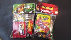 candy bags ninjago candy bags for birthdays party favors set of 8 green
