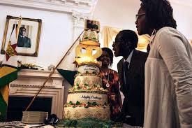 mugabe spent 800 000 on birthday party as zimbabwe starves the