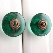 wheel glass knob ornamental door knobs kitchen cabinet handles