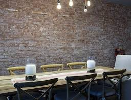 exposed brick wall lighting 10 audacious dining rooms with brick walls