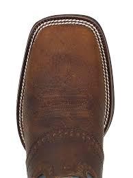 justin boots men u0027s dark brown rawhide boots 2520