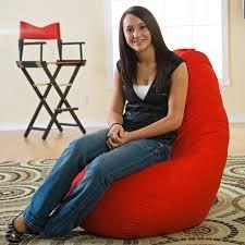 Dorm Room Bean Bag Chairs - gold medal fashion large twill dorm bean bag chair hayneedle