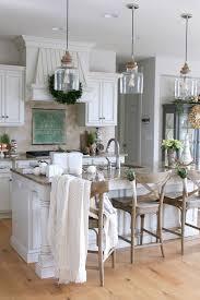 Wooden Pendant Lighting by Red Oak Wood Classic Blue Madison Door Pendant Lights Over Kitchen