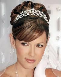 tiara wedding hairstyles for medium length hair popular long