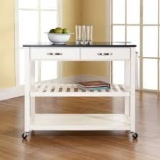kitchen island with stainless steel top foter