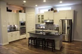 Kitchen Color Schemes With Painted Cabinets by Kitchen Orange Kitchen Walls Light Blue Kitchen Cabinets Kitchen