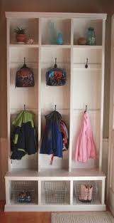 diy kids lockers diy custom built in need front door hallway all 5 kids could