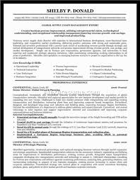 Procurement Sample Resume by Problem Management Resume Virtren Com