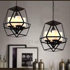 Iron Pendant Light Wrought Iron Large Industrial Pendant Lights