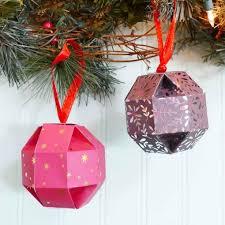 paper orb gift box ornament so easy maker