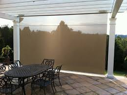Exterior Shades For Patios Outdoor Shades For Patio Exterior Sun Block Porch Deck Roll Up