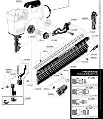 Bosch Roofing Nail Gun by Framing Nail Guns Clipped Head Framing Nailer Meite F50g Brad
