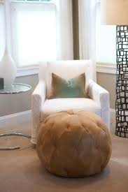 Cowhide Chairs And Ottomans Good Looking Pouf Ottoman In Bedroom Contemporary With Pouf Next