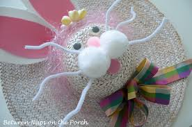 Easter Hat Decorations Uk by Decorate Your Door For Easter