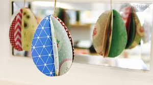 how to make easter eggs how to make 3d paper eggs kidspot