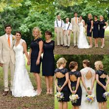 discount knee length fall junior bridesmaid dresses 2017 knee