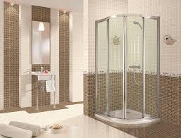 mosaic tile bathroom ideas bathroom futuristic simple bathroom design with brown