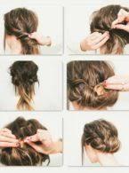 Einfache Hochsteckfrisurenen Selber Machen Lange Haare by Einfache Hochsteckfrisuren Selber Machen Mit Bildern Asktoronto Info