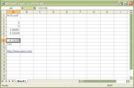 How To A Simple Spreadsheet Spreadsheet Writeexcel Write To A Cross Platform Excel Binary