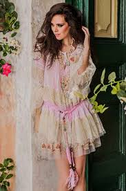 dress pink lace dress shabby chic bohemian boho wheretoget