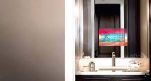 bathroom mirror cost tv in bathroom mirror cost mirror become one tv in bathroom mirror
